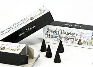 1 Packungk Echt Bucker Räucherkerzen Duft Weihrauch-24 Stück