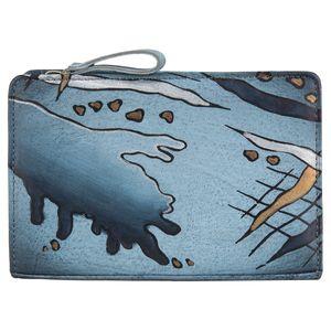 Greenland Art+Craft Leder Schminktasche Kosmetiktasche 52-07