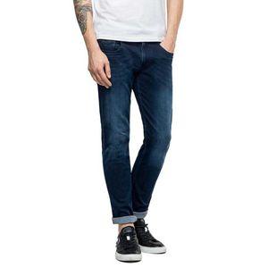 Replay Herren Anbass Slim Fit Jeans, Blau 33W x 32L