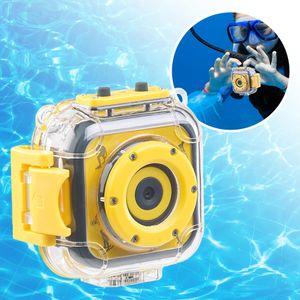 Kinderkamera, Kinder Digitalkamera, Action Cam Kinder, Kinder Fotoapparat, Digitalkamera für Kinder, Unterwasserkamera für Kinder, HD Action Cam, Kamera mit Unterwassergehäuse, wasserfest, wasserdicht