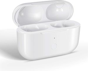 Ladehülle kompatibel mit Airpods Ladehülle Pro, Ersatz kompatibel mit Airpods Wireless Charger Case Pro mit Bluetooth Pairing Sync Button,Weiß