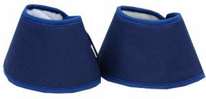 AMKA Waterboots Hufglocken für Pferde - Water Boots bei spröden trockenen Hufen - 1 Paar in blau, Größe:XL
