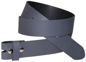 FRONHOFER Wechselgürtel 3,5 cm, Gürtel ohne Schnalle, Gürtel mit Druckknopf 18352, Körperumfang 90 cm
