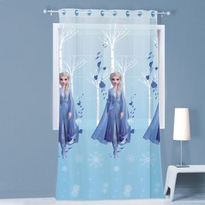 Gardine Vorhang Fertiggardine Frozen 2 Elsa Anna 140 x 240 cm