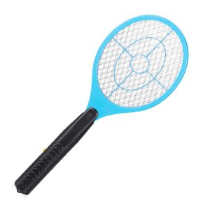 relaxdays 1 x Elektrische Fliegenklatsche Mückenschläger Mückenklatsche Mückentöter blau