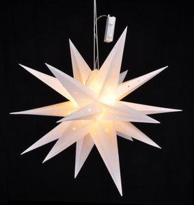 LED Weihnachtsstern mit Auto-Timer