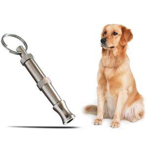 Professionelle Lautlos Hundepfeife, 1 stück Ultraschall Hochfrequenzpfeife,Einstellbares Tonhöhe mit Frequenzsperre, Effektives Hundetraining, Grundbefehle und Bellen Stoppen