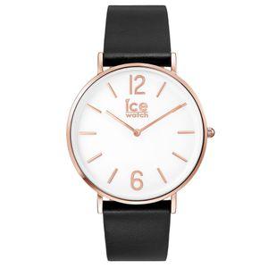 Ice-Watch 001515 ICE city black rose-gold Uhr Damenuhr Leder Schwarz