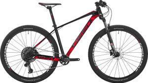 Deed Hardtail Mountainbike Vector 292 29 Zoll 40 cm Herren 12G Hydraulisch Scheibenbremse Schwarz/Rot