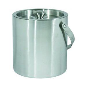 Eiswürfelbehälter Eiseimer Thermo Chrom-Nickel-Stahl