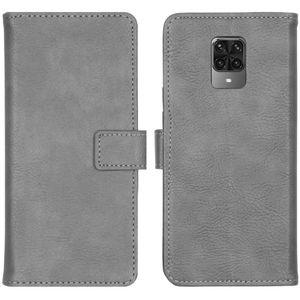 iMoshion kompatibel mit Xiaomi Redmi Note 9 Pro,Xiaomi Redmi Note 9S Hülle –  Handyhülle – Handytasche in Grau [Mit Ständer, Platz für 3 Karten, Magnetverschluss]