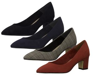 Tamaris 1-22423-23 Pumps Damen Schuhe Blockabsatz, Größe:37 EU, Farbe:Blau