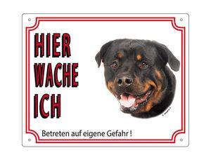 Nobby Warntafel Rottweiler 250 x 200 mm