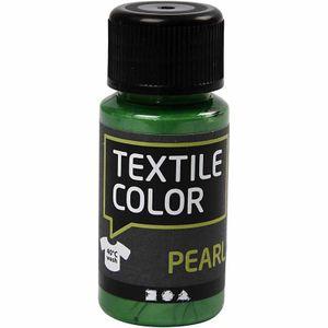 Creotime textilfarbe Pearl 50 ml grün