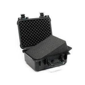 Universalkoffer 27x24,6x12,4cm Schutzkoffer wasserdicht Kamerakoffer anpassbar