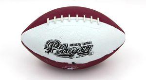 American Football MINI Typ 04 weiß - rot
