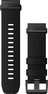 Garmin - Uhrenarmband - Ersatzarmband QuickFit 26mm Nylon Schwarz Edelstahl