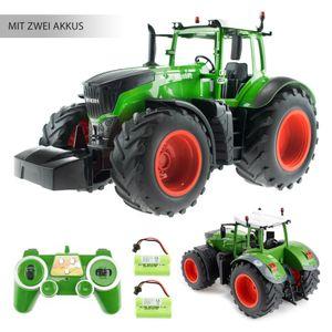 EFASO E351-003 1:16 2,4 GHz RC Trecker mit Licht- und Soundeffekten, erweiterbar mit  Anhängern - t RTR - inkl. 2 Akkus Ferngesteuerter Bauernhof Traktor