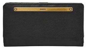 FOSSIL Liza Slim Bifold Wallet Black