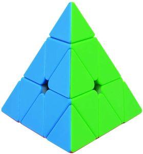 Zauberwürfel Pyraminx Stickerless 3x3 Pyramide Speed Cube 3x3 Puzzle Würfel