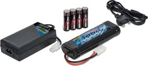 Carson 1:10  RC Expert Charger NiMH Compact 4A Lade Set Tamiya Stecker