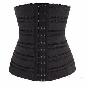 Frauenkörperformer Taillentrainer Korsett Unterbrust Korsett Shapewear Blackl