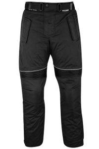 Motorradhose Cordura Textilhose, Schwarz, Größe:52/L