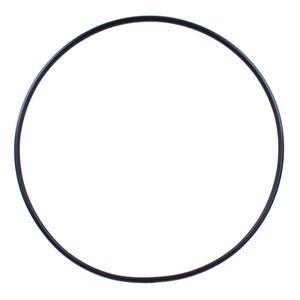 Hula Hoop Rohling, steckbar (Snap Button), Ø 120cm, Schwarz