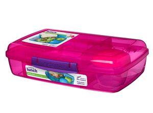 """Sistema 1760 ml Lunchbox  """"BENTO BOX""""+ Joghurt-Becher 41671- PINK"""