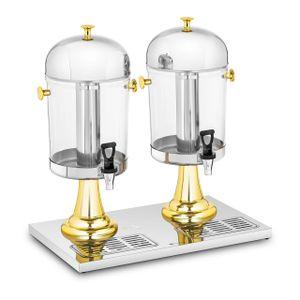 Royal Catering Saftspender - 2 x 8 L - Kühlsystem