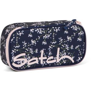 Satch Schlamperbox, Bloomy Breeze, Farbe/Muster: dark blue, rose, whit