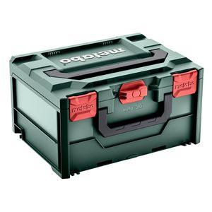 Metabo metaBOX 215 leer, Werkzeugkoffer, 396 x 296 x 215 mm, Systainer Koffer