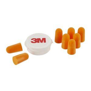 3M Gehörschutzstöpsel 1100 mit Aufbewahrungsbox  (94 bis 105 dB) 1 Set mit 4 Paar