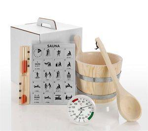 Eliga Sauna Zubehör Set Standard 6-teilig