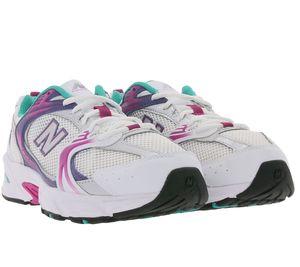 New Balance Lauf-Schuhe modische Herren Sport-Schuhe im Retro-Style Abzorb Weiß/Bunt, Größe:44 1/2