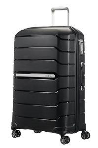 Samsonite Flux Spinner 75/28 Exp Black 885391041 Koffer mit 4 Rollen Hartschale