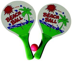 Beachballset / 2 Schläger, 1 Ball