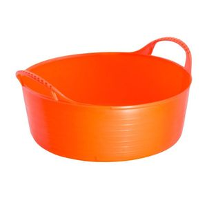 Red Gorilla niedrige, flexible Tubtrug-Wanne TL309 (S) (Orange)