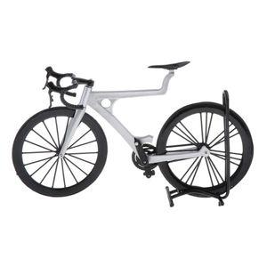 1 Stück 1: 8 Rennradmodell 23x5,5x13cm Silber Modell Fahrradmodell