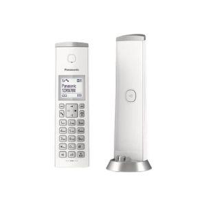 Wohntelefon PANASONIC Dect - TGK220 - mit Anrufbeantworter - Weiß