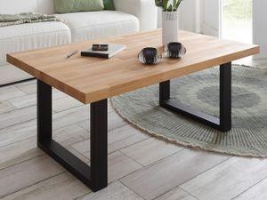 """Couchtisch Kaffeetisch Sofatisch Beistelltisch Tisch Wohnzimmer """"Abilene I"""" Kernbuche"""
