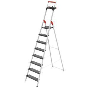 Hailo L100 TopLine, 8 Stufen, Stufenstehleiter