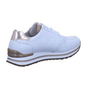 Gabor Comfort Sneaker low  Größe 6, Farbe: weiss/champ/nat