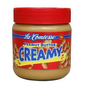 La Comtesse Peanut Butter Creamy extra cremige Erdnusscreme 350g