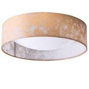 Briloner Deckenleuchte Deckenlampe Rund Golden Lampe Leuchte 3712-027