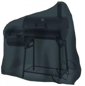 Tepro-Grillschutzhülle-Universal Abdeckhaube - für Smoker mittel, schwarz; 8107