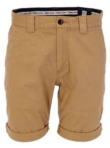 Tommy Jeans Herren Scanton Chino Shorts, Beige 34W