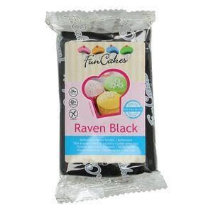 FunCakes Fondant -Raven Black- 250g