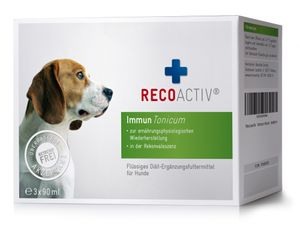 RECOACTIV® Immun Tonicum für Hunde, 3 x 90 ml