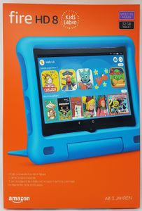 Amazon Fire HD 8 Kids Edition-Tablet 2020, 20,32 cm (8 Zoll) Display, 32 GB, violette kindgerechte Hülle mit Ständer